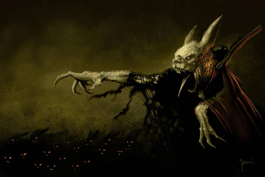 Curse of the Wererabbit by lucagennai