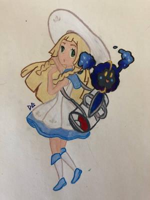 Lillie Pokemon by femaledarkpit