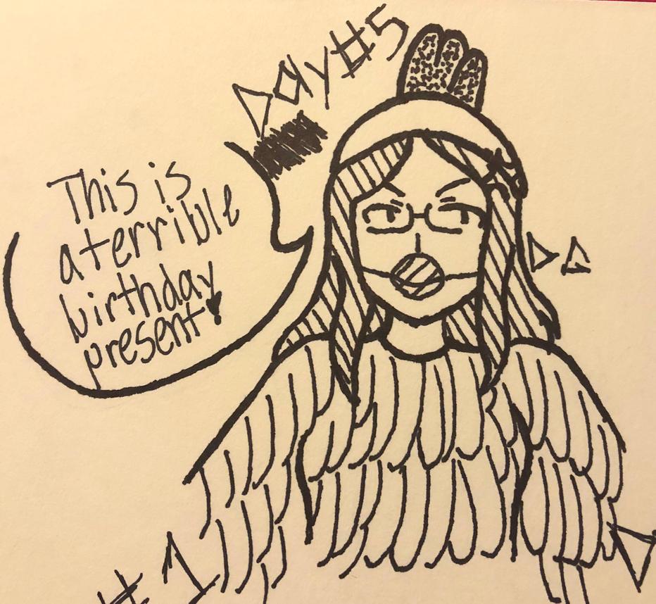 Its my birthday... Oof  by femaledarkpit