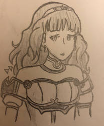Celica from Fire Emblem by femaledarkpit