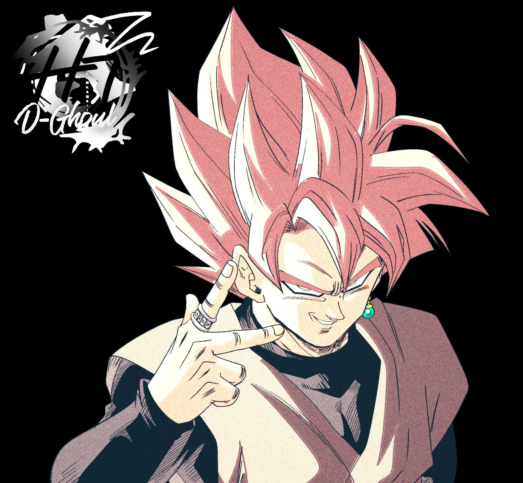Goku Black SSR (DBS) - Render