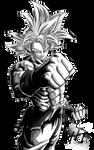 Son Goku UI (DBS Manga) - Render