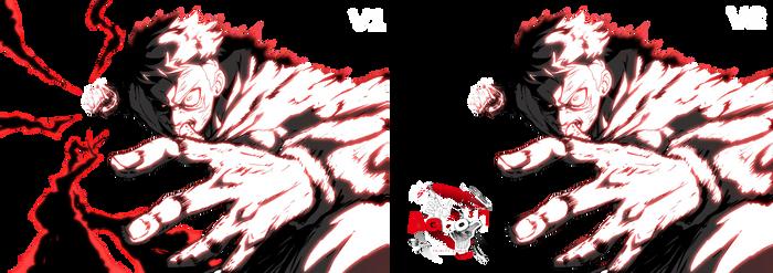 Itadori's Black Flash (JJK) - Render
