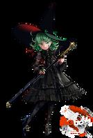 Witch Tatsumaki (OPM Halloween) - Render
