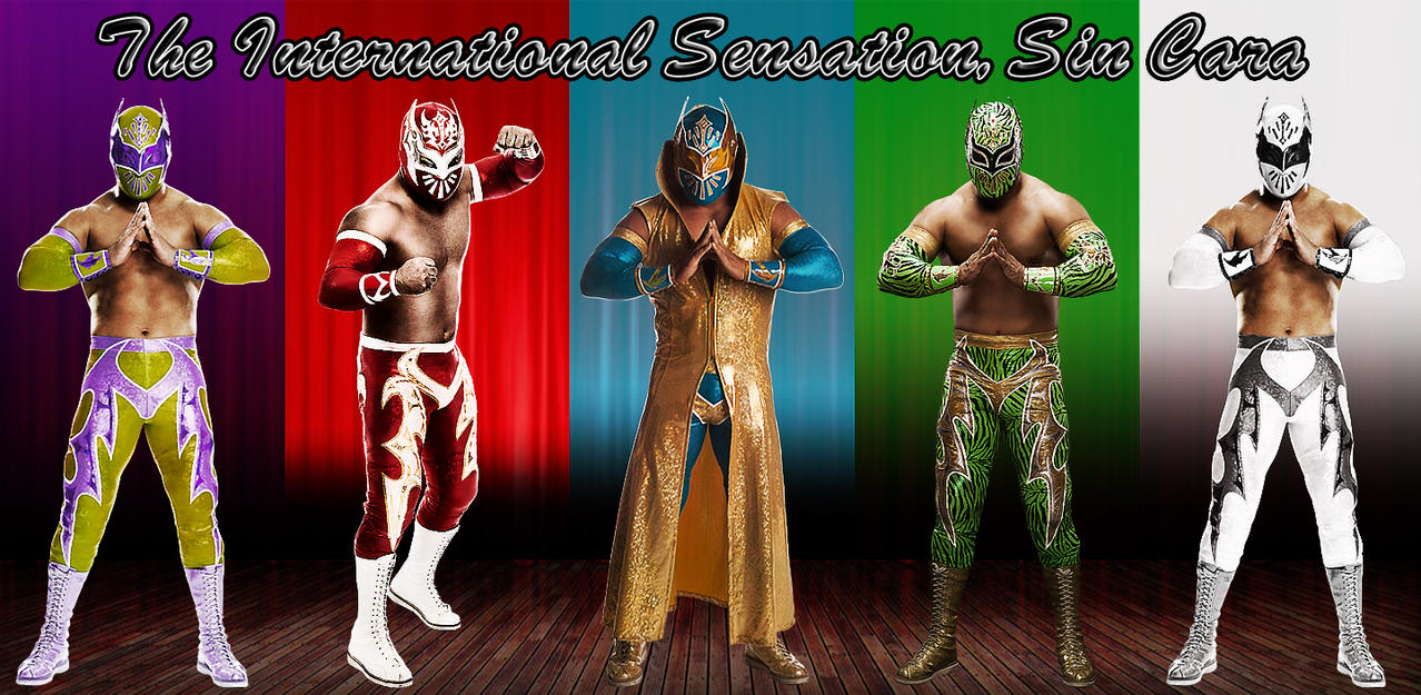 Sin Cara Wallpaper By LefterisAntonopoulos