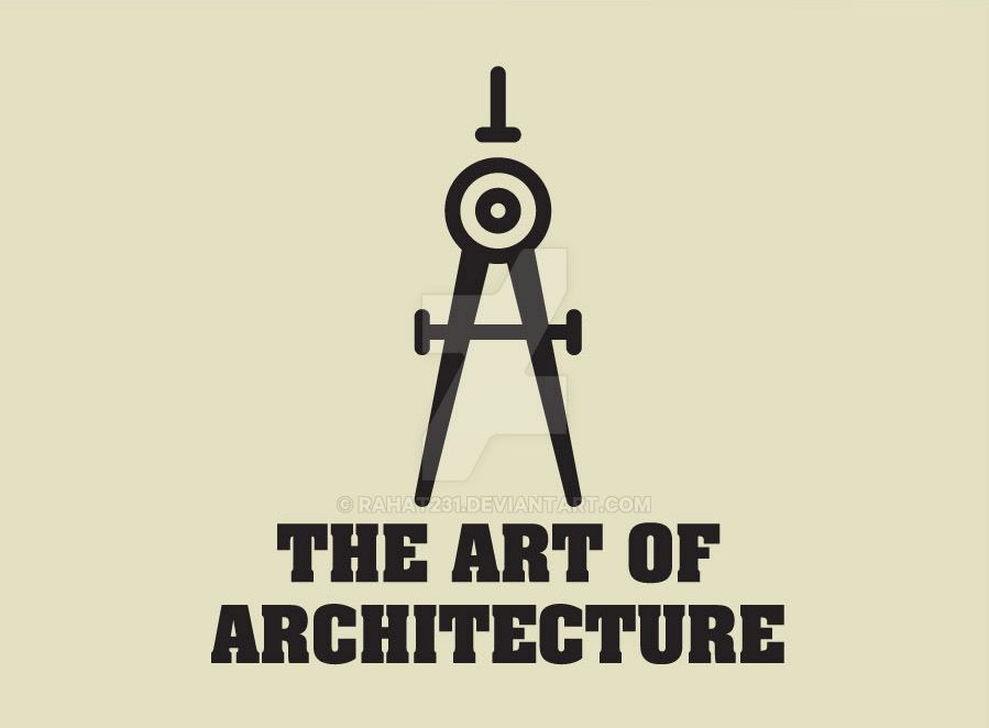 The art of architecture logo by rahat231 on deviantart for Architecture logo
