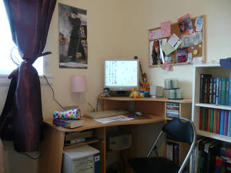 My Desk take two by PunxAngel