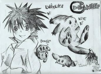 DN Doodle by PunxAngel