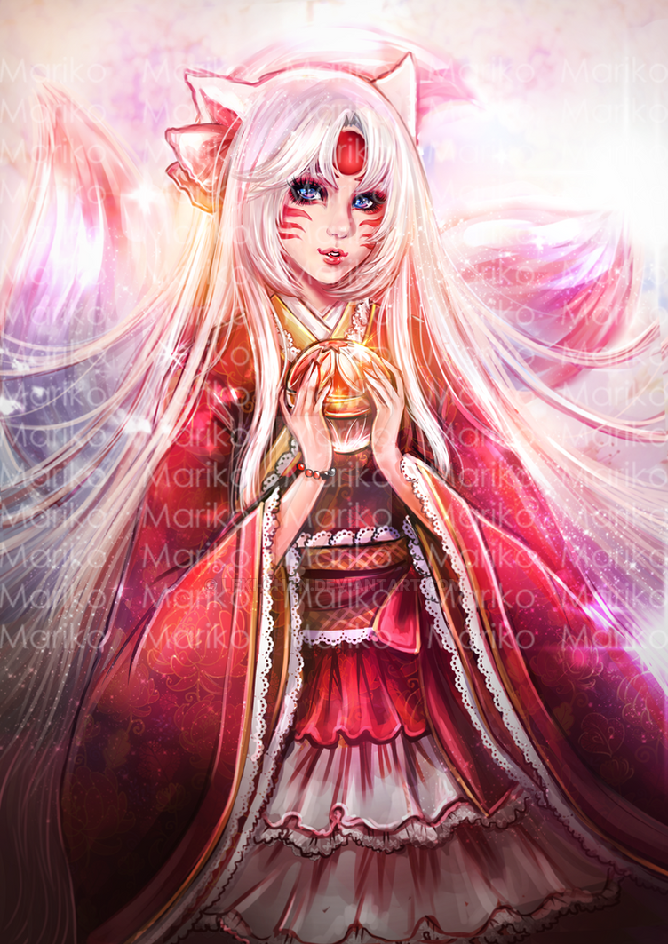 Mariko Art by Leki-chan