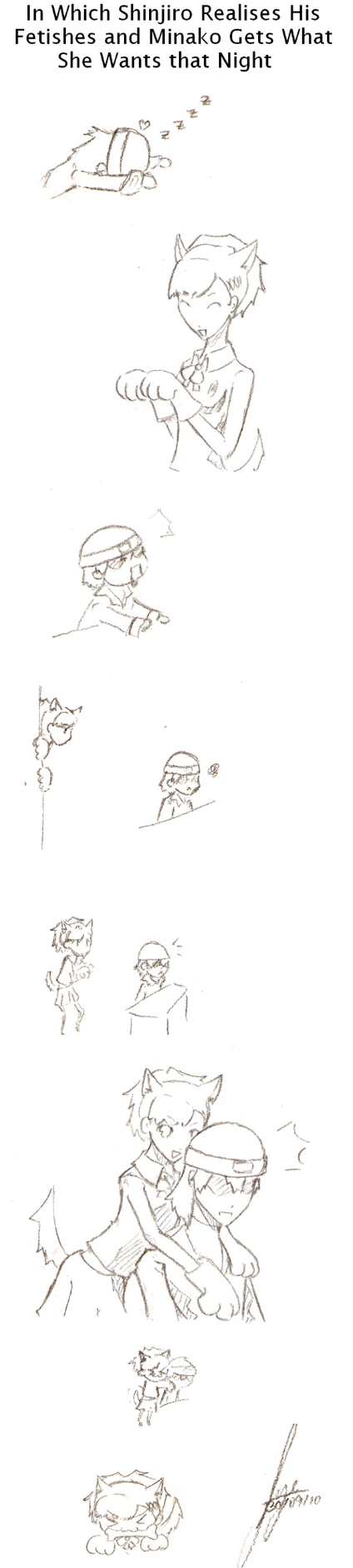 P3P: Shinji x FemC by Wake-up-Reverie