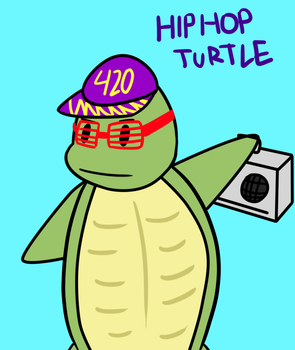 Hip Hop Turtle