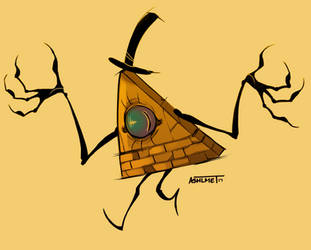 Bill the Cipher by Ashlmet