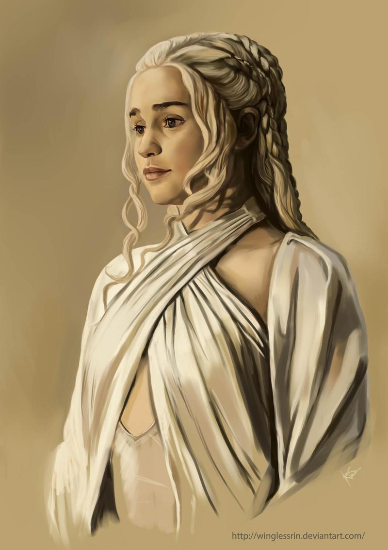 Daenerys Targaryen by WinglessRin