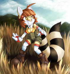 in the fields by Rebeccakh