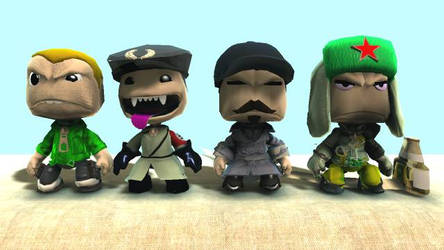 LBP Costumes - Zombies Crew UPDATED by B-manYoshi