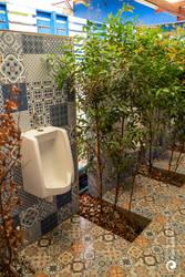Urinal, Thai style...