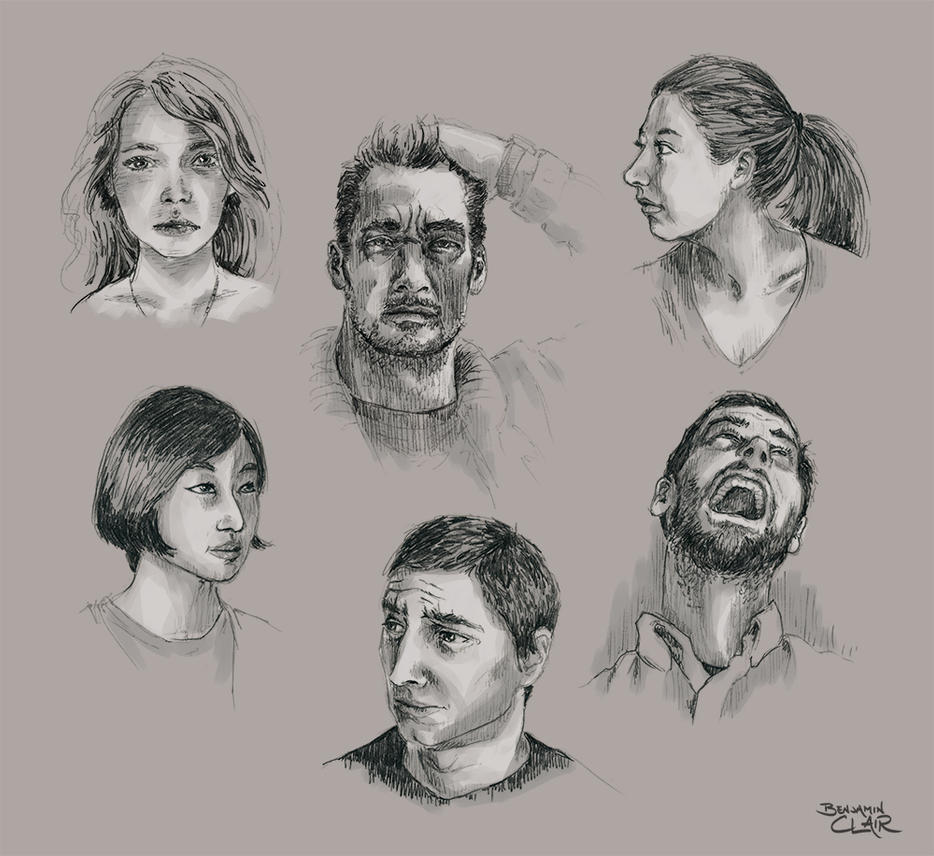 Face Practice! by mighty5cent