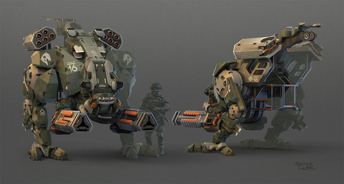 T18 Argos Autonomous Weapons Platform by mighty5cent