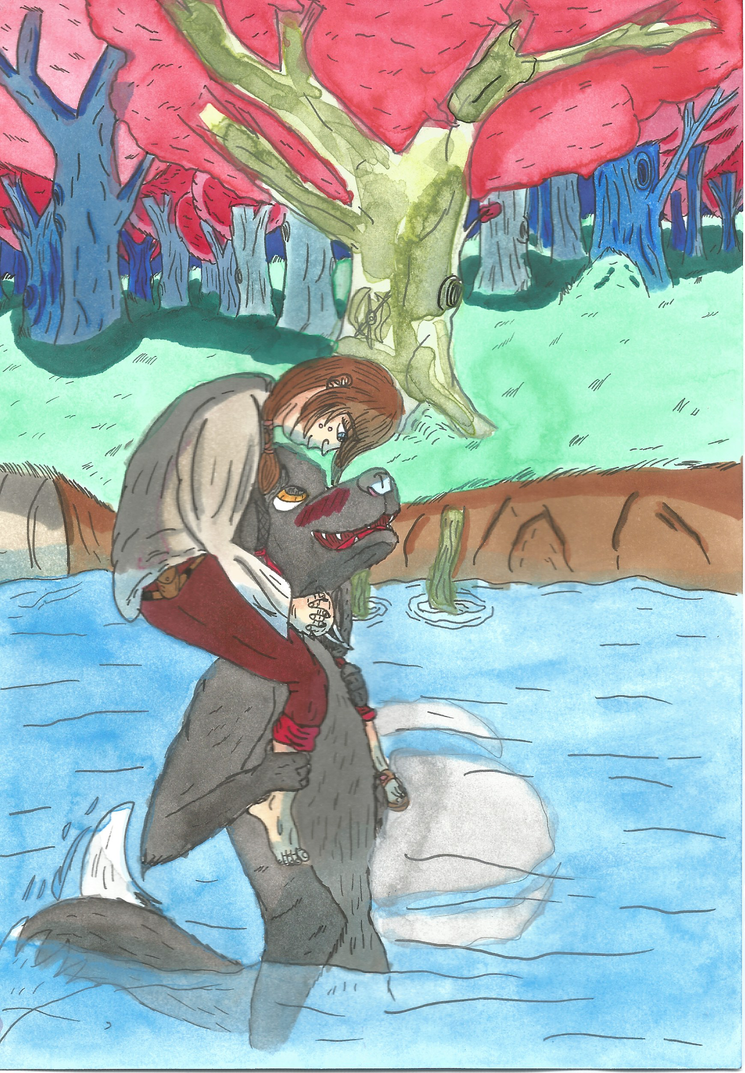 Date in the lake by garrus368
