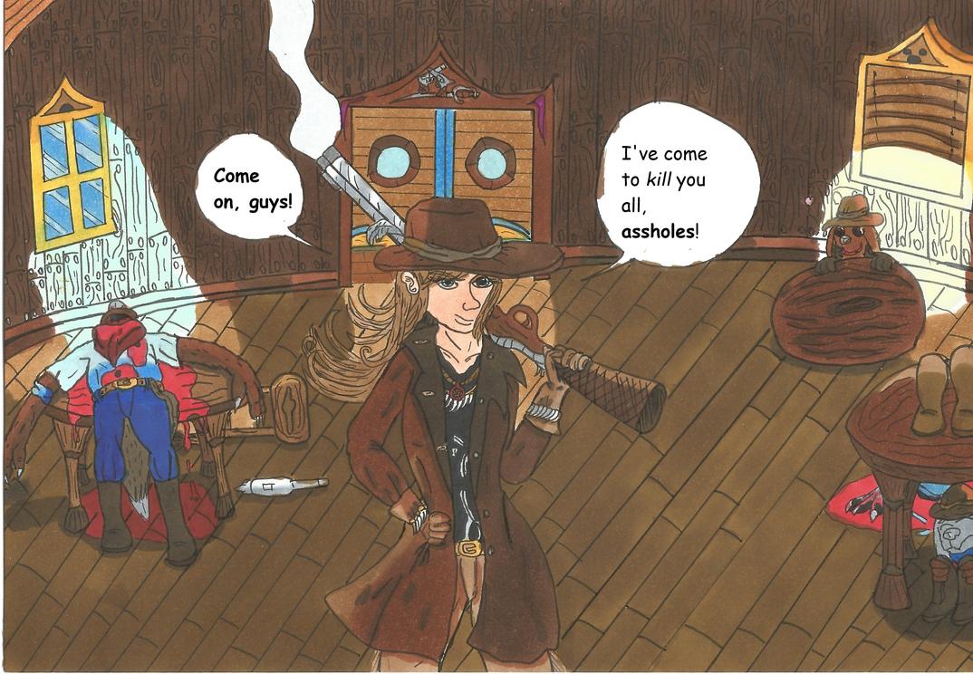 Revenge tastes like whiskey by garrus368