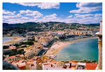 Town on the Coast of Spain by bendecida