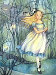 Alice in the Tulgey Wood