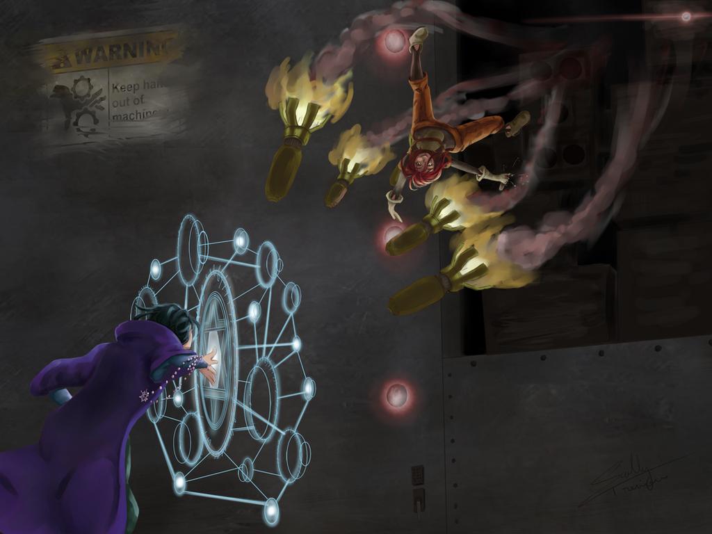 Mechanical versus Magical by SallyTrivone