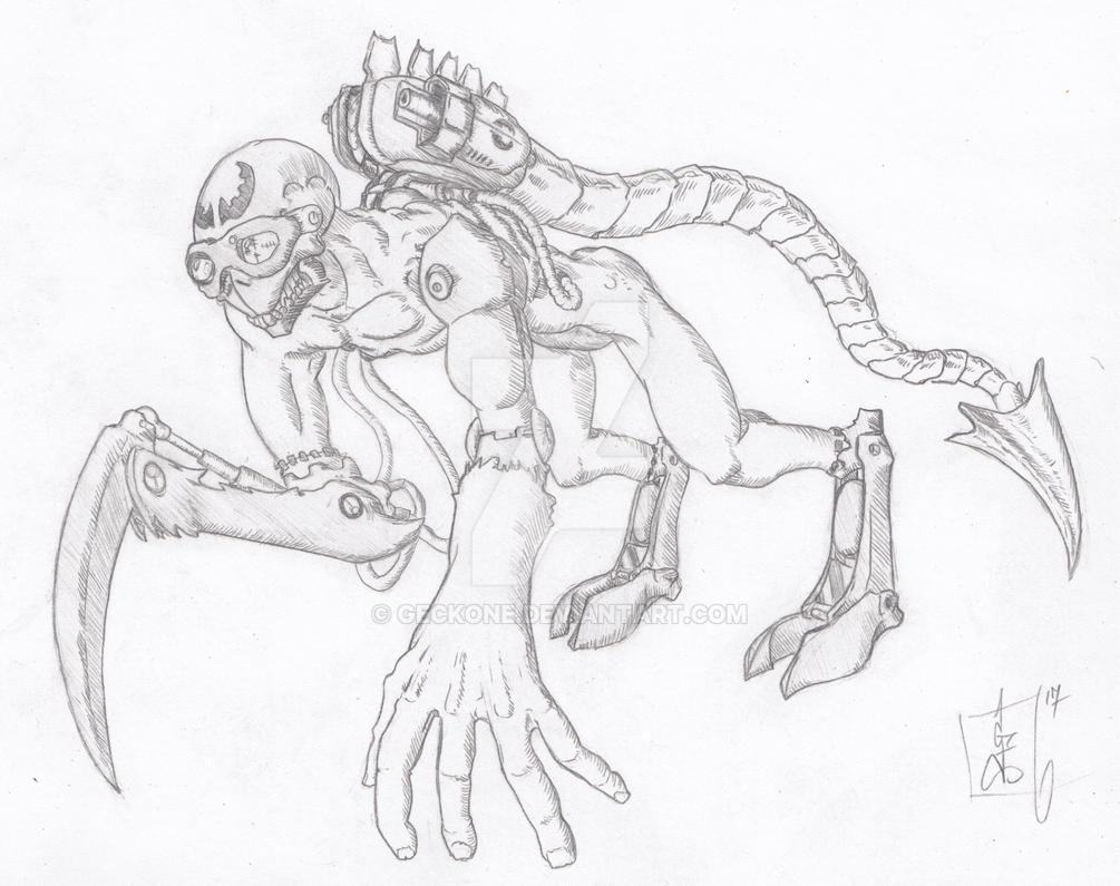The Hound by Geckone