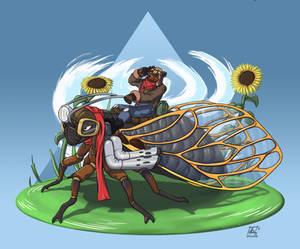 Turbo Cicada Rider Griz