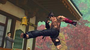 Street Fighter X Tekken - Jin 4