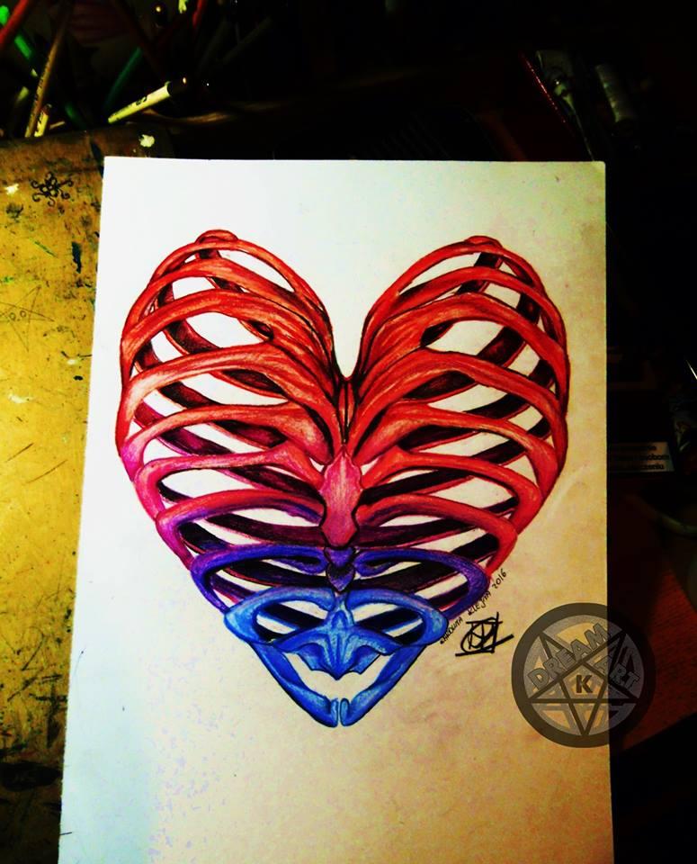 heart by DreamArtK
