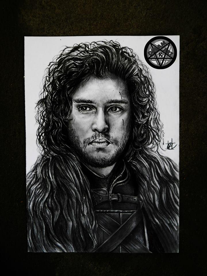 Jon Snow by DreamArtK