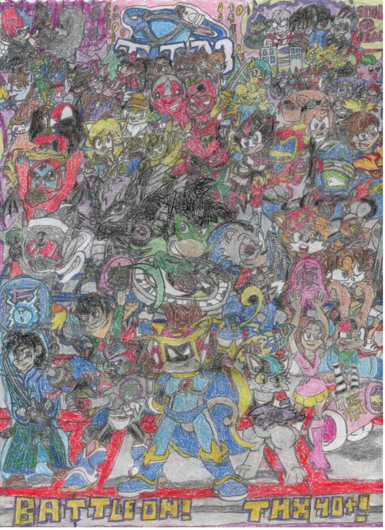 BATTLE ON! (THX 40+ Watchers!) by MorphiusX
