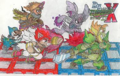 BATTLE ON, Dandy Alliance!! (ATG 2019, Day XV) by MorphiusX