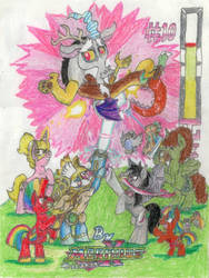 For the Order Of Equestria!! (ATG 20, MUDay 10) by MorphiusX