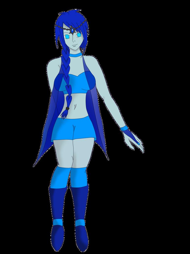 Steven Universe OC - Azurit by WolfsSoul94