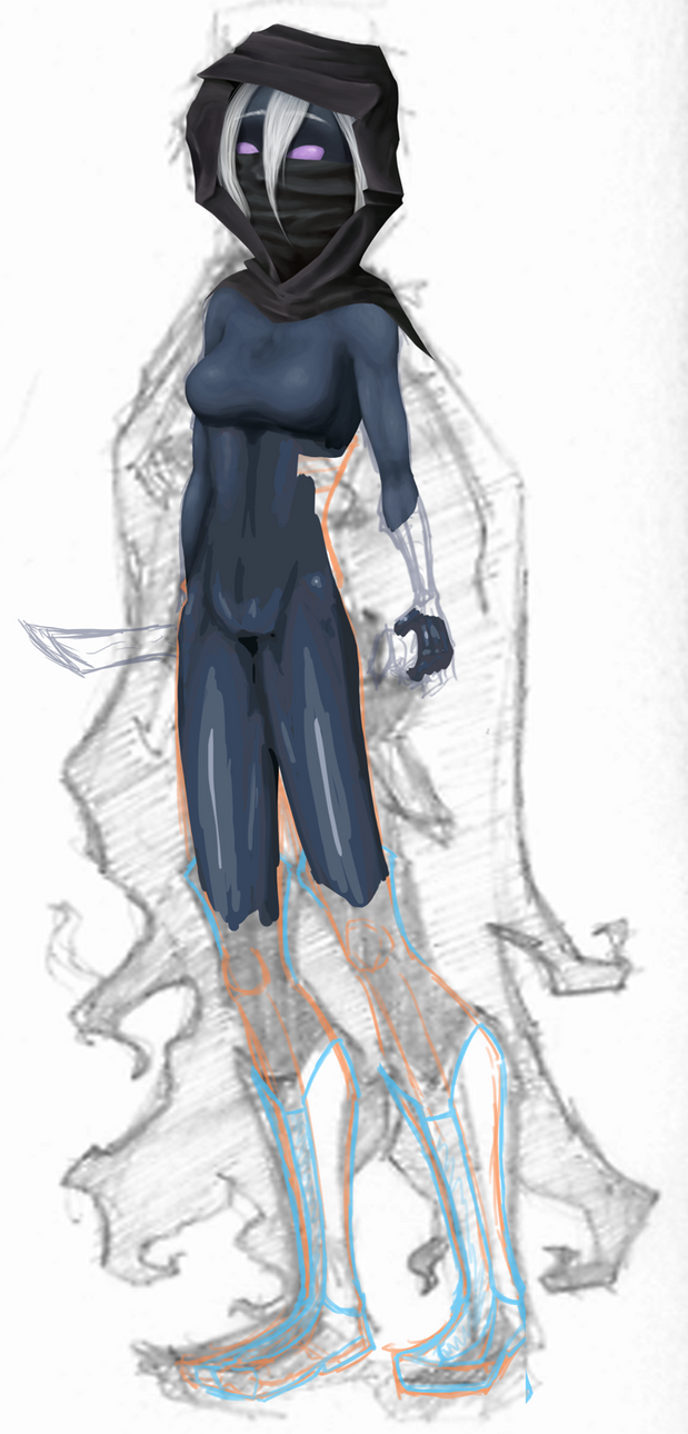 Drow Rogue WIP By Pargile On DeviantART
