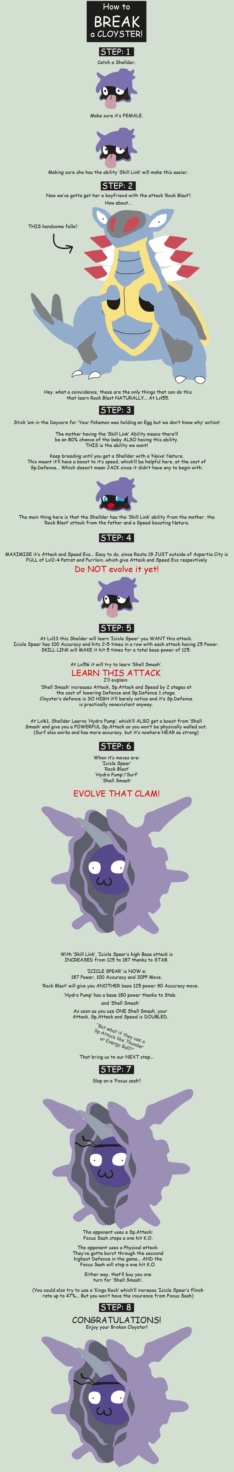 how to break a cloyster by blackwing2 on deviantart