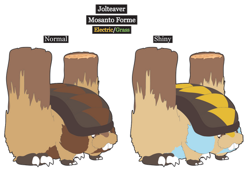 Fakemon what if: Jolteaver