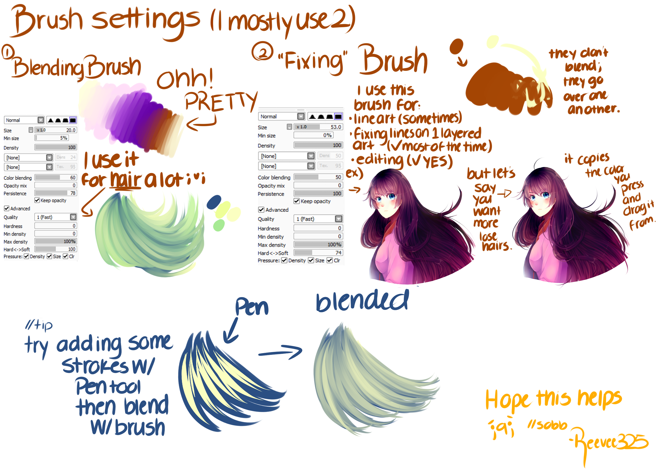 . Paint Tool Sai Brushes favourites by DasChocolate on DeviantArt