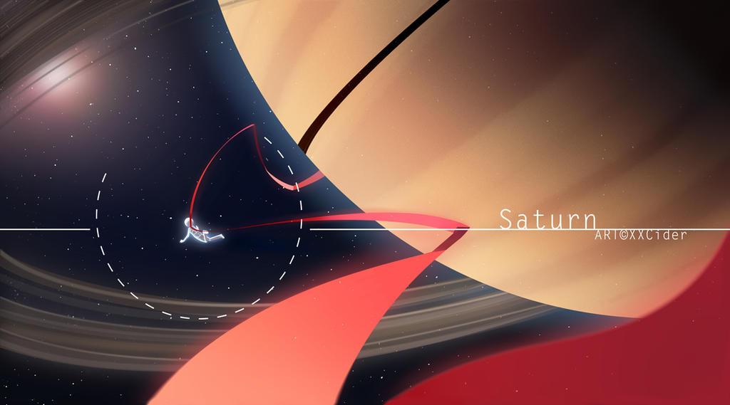 Saturn by XXCider