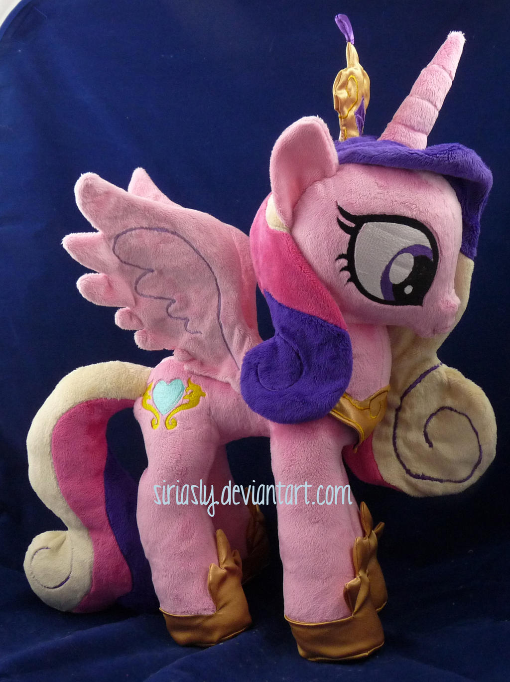 Princess Cadance Plush by siriasly
