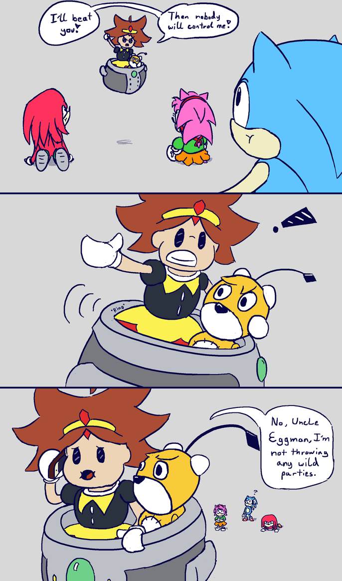 ::Omelette Fan Comic:: by supersysscvi