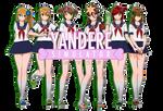 [MMD - Yandere] Gardening Club Note DL!!
