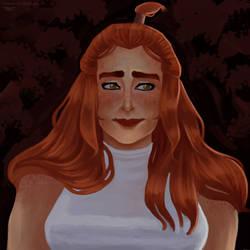 EnaMcGinnis Portrait (color ver