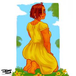 Flower Dress- Vivian