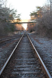 Along the Tracks by KelseyMariePhoto