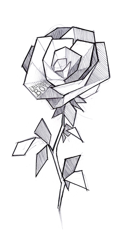 Geometric Flowers Tattoo 2 By The Bumph Boys On DeviantArt