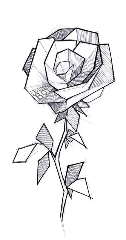Line Art Geometry : Geometric flowers tattoo by the bumph boys on deviantart