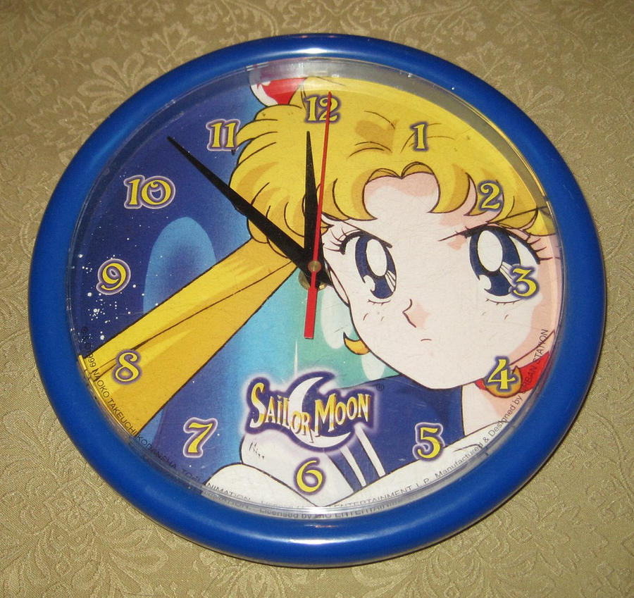 Sailor Moon Wall Clock By Avaneshop On Deviantart